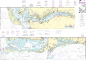 thumbnail for chart Intracoastal Waterway Fort Myers to Charlotte Harbor and Wiggins Pass