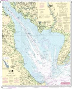 thumbnail for chart Delaware Bay