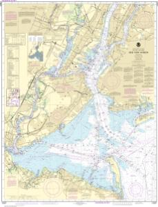 thumbnail for chart New York Harbor