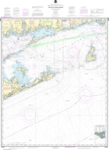 thumbnail for chart Block Island Sound and Approaches