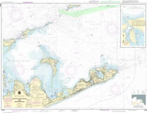 thumbnail for chart Block Island Sound and Gardiners Bay; Montauk Harbor