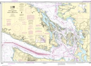 thumbnail for chart Strait of Georgia and Strait of Juan de Fuca