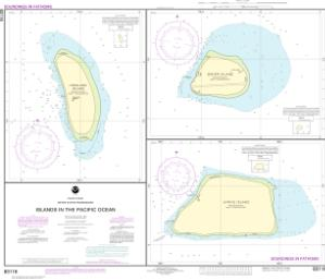 thumbnail for chart Islands in the Pacific Ocean-Jarvis, Bake and Howland Islands