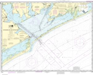 thumbnail for chart Matagorda Bay and approaches