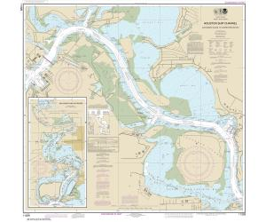 thumbnail for chart TX,2016,Houston Ship Channel Alexander Island to Carpenters Bayou; San Jacinto and Old Rivers