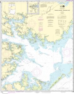 thumbnail for chart Pamlico Sound Western Part