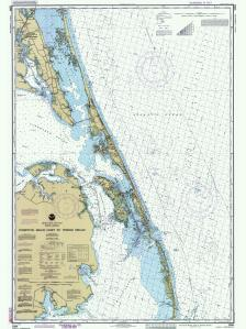 thumbnail for chart NC,1990,Currituck Beach Light to Wimble Shoals