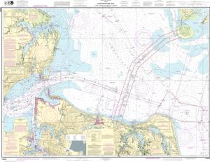 thumbnail for chart Chesapeake Bay Cape Charles to Norfolk Harbor