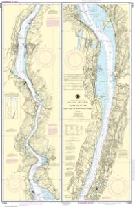 thumbnail for chart Hudson River New York to Wappinger Creek