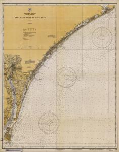 thumbnail for chart NC,1933,New River Inlet To Cape Fear