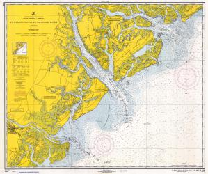 thumbnail for chart SC,1967, St. Helena Sound To Savannah River
