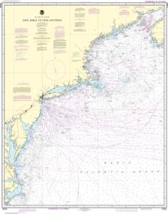 thumbnail for chart Cape Sable to Cape Hatteras