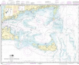 thumbnail for chart Nantucket Sound and Approaches