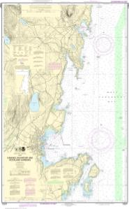 thumbnail for chart Camden, Rockport and Rockland Harbors