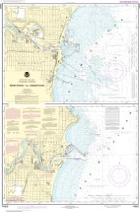 thumbnail for chart Manitowoc and Sheboygan