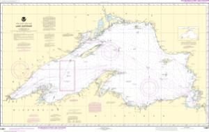 thumbnail for chart Lake Superior (Mercator Projection)