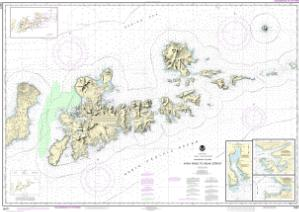 thumbnail for chart Atka Pass to Adak Strait;Three Arm Bay, Adak Island;Kanaga Bay, Kanaga Island;Chapel Roads and Chapel Cove, Adak Island
