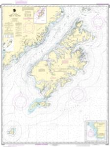 thumbnail for chart Kodiak Island;Southwest Anchorage, Chirikof Island