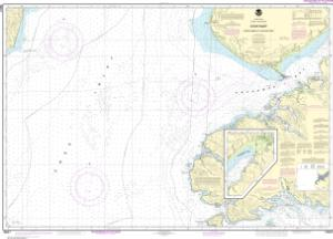 thumbnail for chart Cook Inlet-Cape Elizabeth to Anchor Point