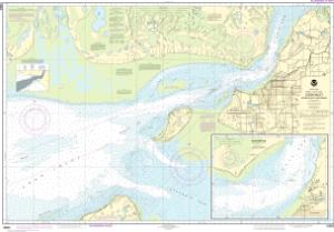 thumbnail for chart Cook Inlet-Approaches to Anchorage;Anchorage