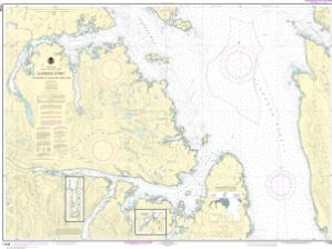 thumbnail for chart Clarence Strait, Cholmondeley Sound and Skowl Arm