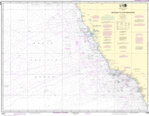 thumbnail for chart San Diego to Cape Mendocino