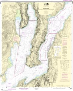 thumbnail for chart Hood Canal-South Point to Quatsap Point including Dabob Bay