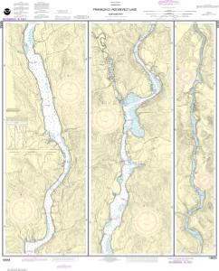 thumbnail for chart FRANKLIN D. ROOSEVELT LAKE Northern part
