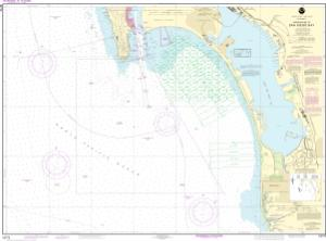 thumbnail for chart Approaches to San Diego Bay