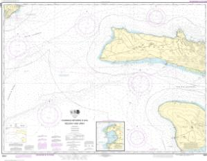 thumbnail for chart Channels between O'ahu, Moloka'i and Läna'i;Kaumalapa'u Harbor