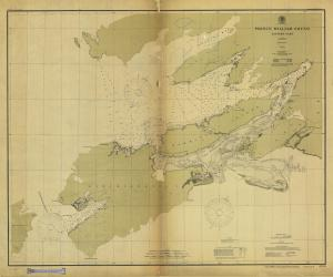 thumbnail for chart AK,1902, Prince William Sound