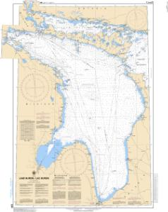 thumbnail for chart Lake Huron/Lac Huron