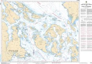 thumbnail for chart Juan de Fuca Strait to/à Strait of Georgia