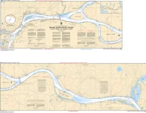 thumbnail for chart Fraser River/Fleuve Fraser, Pattullo Bridge to/à Crescent Island