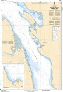 thumbnail for chart Approaches to/Approches à Campbell River
