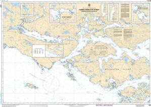 thumbnail for chart Queen Charlotte Strait, Eastern Portion/Partie Est