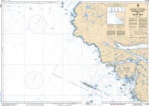 thumbnail for chart Approaches to/Approches à Seymour Inlet and/et Belize Inlet