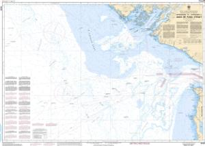 thumbnail for chart Approaches to/Approches à Juan de Fuca Strait