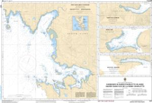 thumbnail for chart Harbours in Queen Charlotte Islands/Havres dans Îles de la Reine-Charlotte