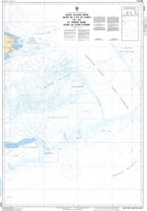 thumbnail for chart Sable Island Bank / Banc de IÎle de Sable to / au St. Pierre Bank / Banc de Saint-Pierre