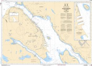 thumbnail for chart Halifax Harbour: Point Pleasant to / à Bedford Basin