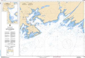thumbnail for chart Port aux Basques and Approaches/et les Approches