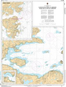 thumbnail for chart Plans on the Coast of Labrador / Plans sur la côte du Labrador