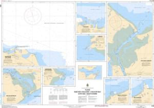thumbnail for chart Plans Baie des Chaleurs / Chaleur Bay - Côte sud / South Shore