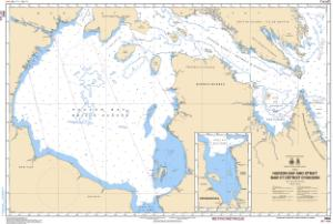 thumbnail for chart Hudson Strait and Bay/Baie et Détroit DHudson