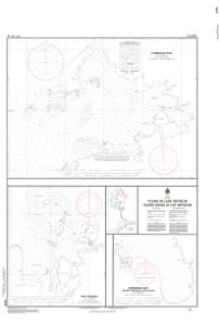 thumbnail for chart Plans in Lake Nipigon / Plans dans le lac Nipigon