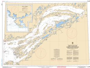 thumbnail for chart Great Slave Lake/Grand lac des Esclaves, Eastern Portion/Partie est