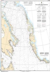 thumbnail for chart Davis Strait and/et Baffin Bay