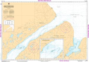 thumbnail for chart Prince of Wales Strait, Northern Portion/ Partie Nord