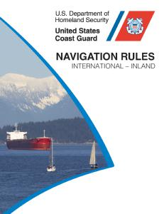 thumbnail for chart USCG Navigation Rules and Regulations